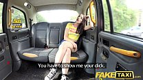 Fake Taxi Olive skin brunette gets fucked on ca...