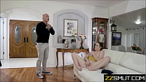 Mom and Daughter caught masturbating by Dad