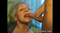 Old amateur mature wife sucks and fucks with cumshot