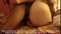 WE GANGBANGED THIS SEXY WHITE GIRLFRIEND AND ONE OF OUR BBC BUST A NUT INSIDE HER! TEXT US!