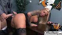 Sex Tape In Office With Huge Round Juggs Sexy Girl (britney shannon) movie-10