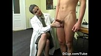 Busty Medical Captain enjoying new recuits cum shower preview image
