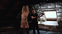 19388 Victoria Pure tied up in sensual BDSM preview