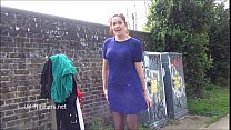 Leias public nudity and nervous flashing amateu... Thumbnail