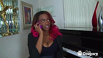Ebony MILF Tori Taylor Has A Big Load Blasted All Over Her Face