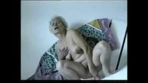 Some grannies having fun. Amateur home made