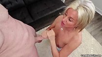 Cum shower for the horny milf thumbnail