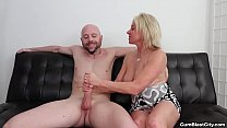 Cum shower for the horny milf preview image