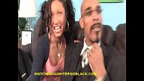 Teen Babe Sucks Black Cock In Front Of Dad preview image
