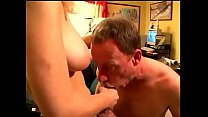 Pretty blonde gal Rebecca Starr allows dubm juicehead to feel power of her strap-on in his arse
