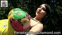 Penelope Black Diamond Outdoor-Anal-Blowjob Pre...