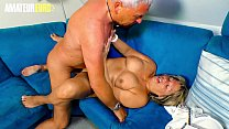 AMATEUR EURO - German Granny Karin A. Wakes Up ... thumb