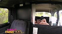Female Fake Taxi Busty beautiful blonde fucks her lucky passenger