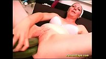extreme toys deep inside her fat pussy hole