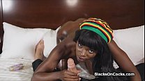 Lubed and fucked black beauty preview image
