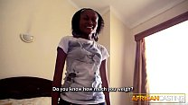 8547 African maid fucked by big white tourist cock preview