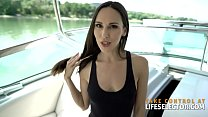 11825 Yacht Sex with sexy teacher Lilu Moon preview
