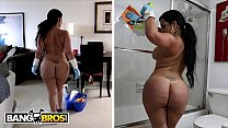 BANGBROS - My Dirty Maid Destiny Slams Her Cuban Big Ass On My Cock - download porn videos