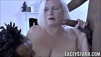 LACEYSTARR - BBC double team works on insatiabl... thumb