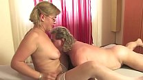 Free version - Slutty blonde sucks her father's cock to savor his sperm