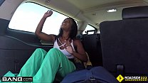 Roadside - Stacy gives her mechanic a blowjob in public thumbnail