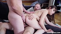 Luna Rival Masters Two Monster Cocks in One Hole On WebCam