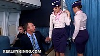 Sneaky Sex - (Chad White, Nikki Knightly) - Fly Me To The Poon - Reality Kings
