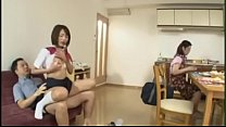 Japanese daughter can't stop squirting image