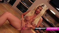 POV Lap dance with stunning UK blonde Tommie Jo