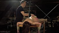 Sensual hot and kinky bondage sex for tied up teen Thumbnail