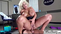 (bridgette b) Round Boobs Girl Bang Hard In Office video-08