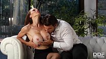 Busty Milf McKenzie Lee gets her shaved tight p... Thumbnail