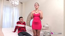 Soraya Loses Her Innocence Surrounded By Cocks