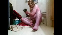 Horny Shemale Slut Fucking Ass With Horse Cock