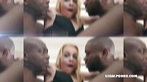 Rebecca Sharon goes balls deep & double anal wi...