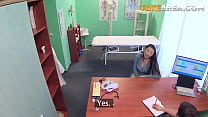 Japanese Milf Gets Horny With Doctor's Massage   FakeArea
