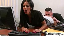 Hard Banged In Office A Real Slut Big Tits Girl (elicia solis) video-20