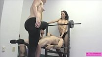 2 Hot GoGo Dancers Jerk a Guy Off and Sit on His Face preview image