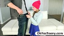 Teen Tysen Rich is kinky as she have sex with a massive dick guy Thumbnail