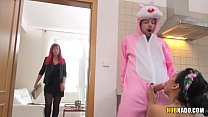 Easter afterparty with a latina cleaning lady C... Thumbnail