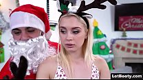 nicolette noir: Big ass and small tits of Anastasia Knight for Santa Claus thumbnail