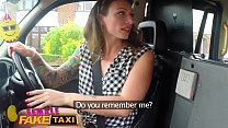 Female Fake Taxi Horny cheating bride to be wan...