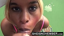 6462 Missionary Tiny Little Black Msnovember Shaved Pussy Fucked Hard With Legs Pushed Back By Dominate Old Man With Big Cock Hurting Her Coochie With Panties Down To Thighs HD Sheisnovember preview