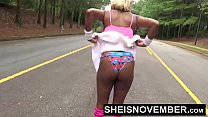 17876 Missionary Tiny Little Black Msnovember Shaved Pussy Fucked Hard With Legs Pushed Back By Dominate Old Man With Big Cock Hurting Her Coochie With Panties Down To Thighs HD Sheisnovember preview