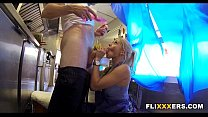 Massage Vidz » Serving food while taking it doggystyle thumbnail