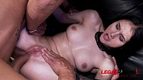 Horny babe Crystal Greenvelle fucks like a dream 100% anal in real stripclub preview image