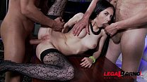Horny babe Crystal Greenvelle fucks like a dream 100% anal in real stripclub Preview