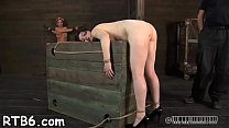 Brutal beating of babe's bottom preview image