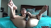 Fucking My Dildo In A Bikini SOLO ORGASM pornhub video