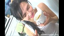 16006 Teen Drink Morning Coffee With Sperm preview